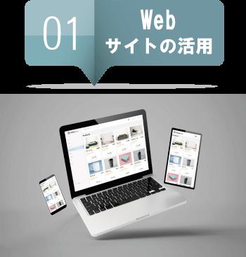 WEBサイトの活用