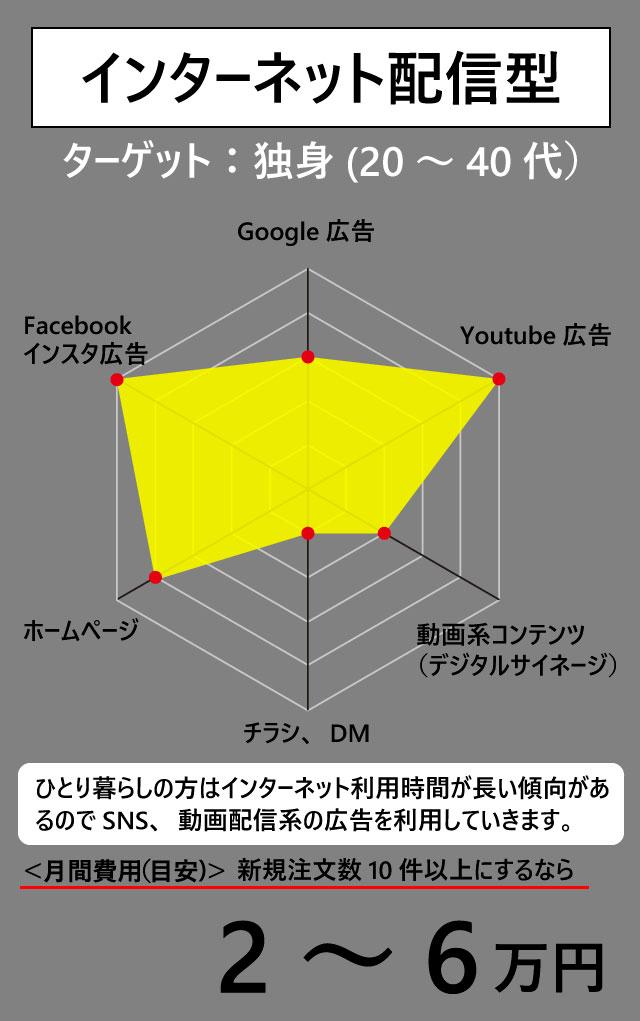 インターネット配信型